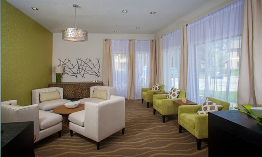 Clubhouse at Tuscany Pointe at Tampa Apartment Homes in Tampa, Florida