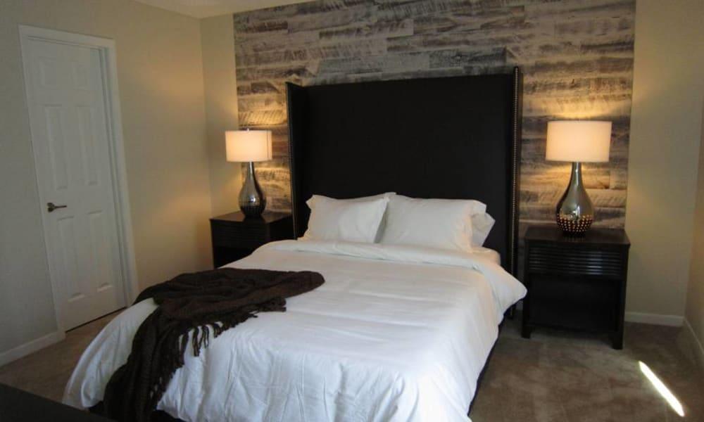 Bedroom at Tuscany Pointe at Tampa Apartment Homes in Tampa, Florida