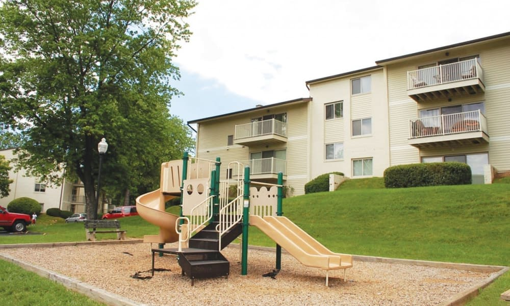 Playground at Morningside Apartments & Townhomes in Owings Mills, Maryland