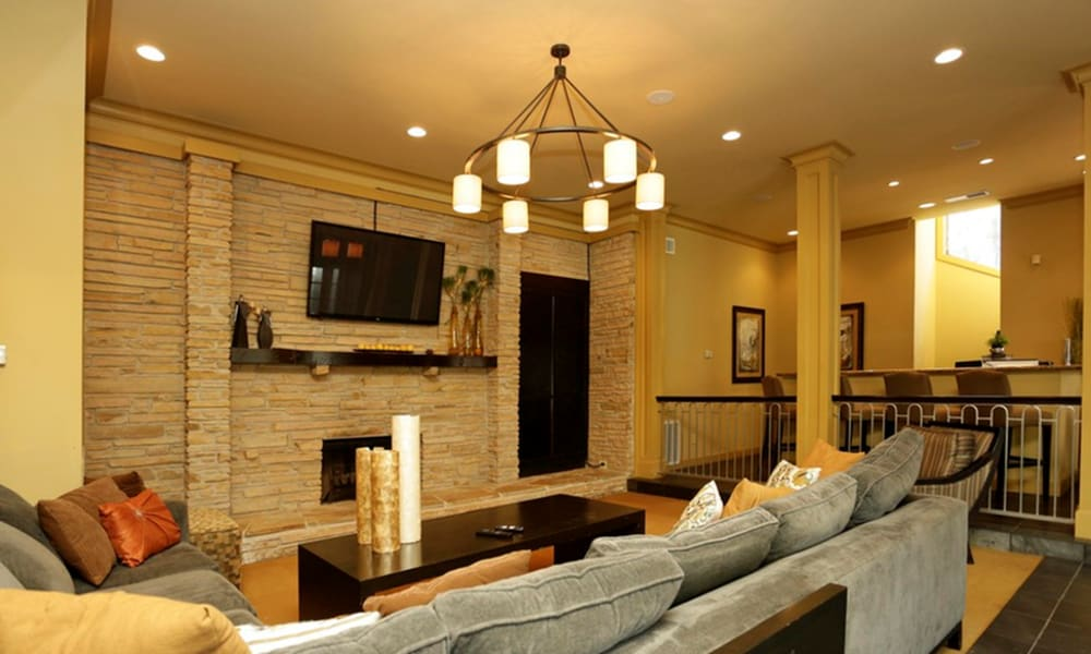 Clubhouse at Peppertree Apartment Homes in Lafayette, Louisiana