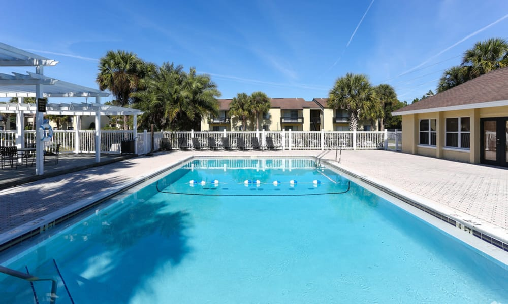 Pool at Pointe Sienna Apartment Homes in Jacksonville, Florida
