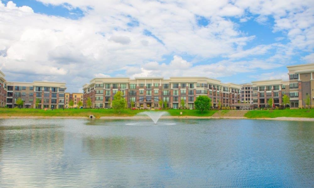 Apartment homes at Latitude at Deerfield Crossing in Mason, Ohio