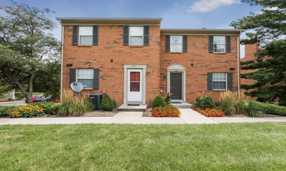 Apartment homes at Mallard Lakes Townhomes in Cincinnati, Ohio