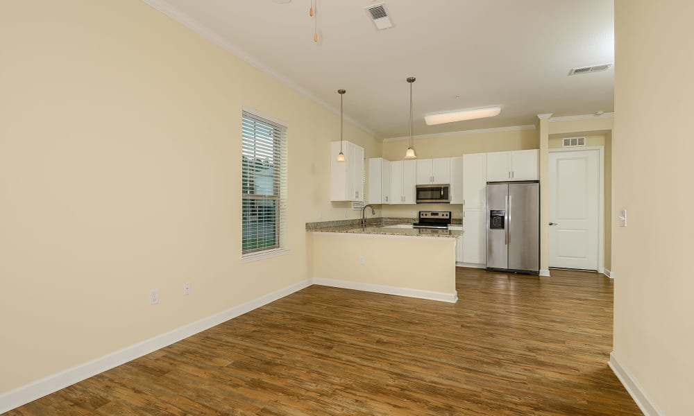 Open floorplan in new home at Palm Bay Club in Jacksonville, Florida
