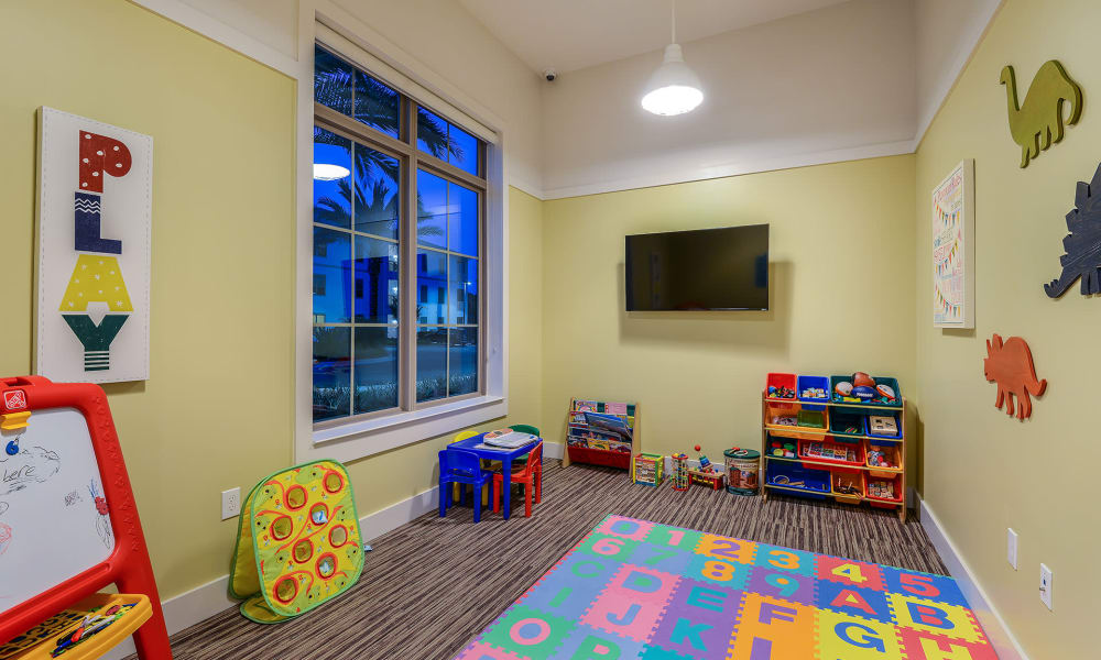 Child play room at Palm Bay Club in Jacksonville, Florida