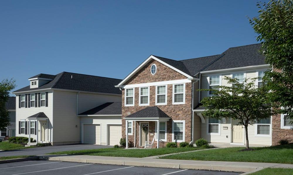 Exterior at The Village of Laurel Ridge & The Encore Apartments & Townhomes in Harrisburg, Pennsylvania