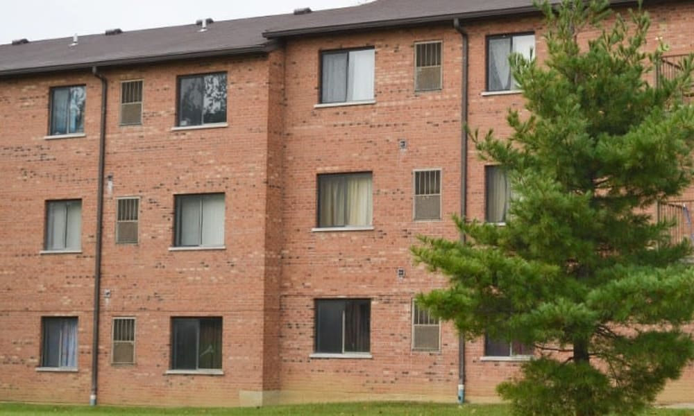 Apartment homes at Miamiview Apartments in Cleves, Ohio