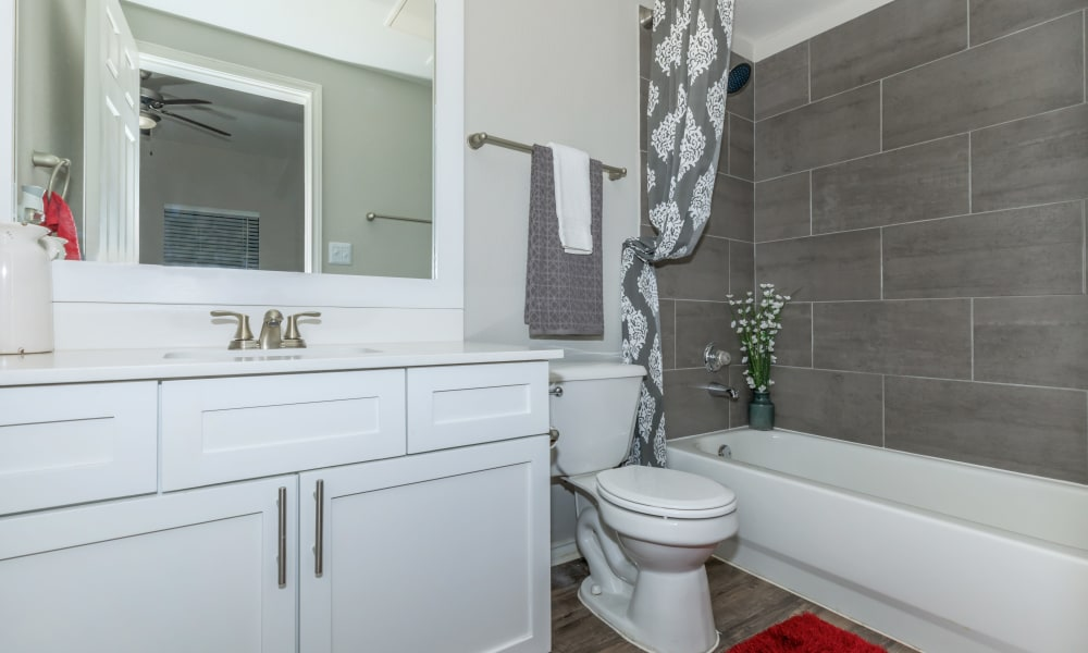 Bathroom at APEX in San Antonio, Texas