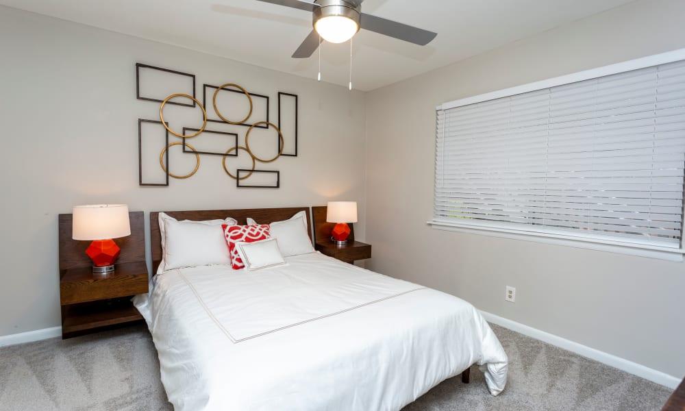 Model bedroom at Beckett Park in Smyrna, Georgia