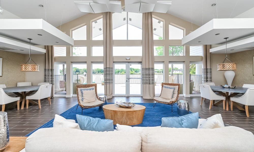Enjoy Apartments with a Clubhouse at Park at Lake Magdalene Apartments & Townhomes in Tampa, Florida