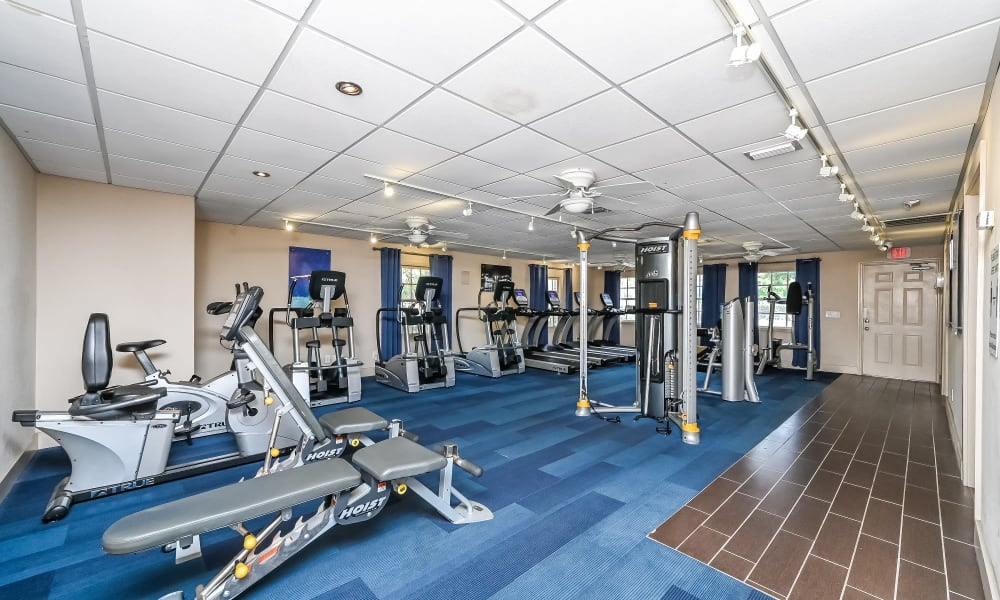 Enjoy Apartments with a Gym at Park at Lake Magdalene Apartments & Townhomes in Tampa, Florida