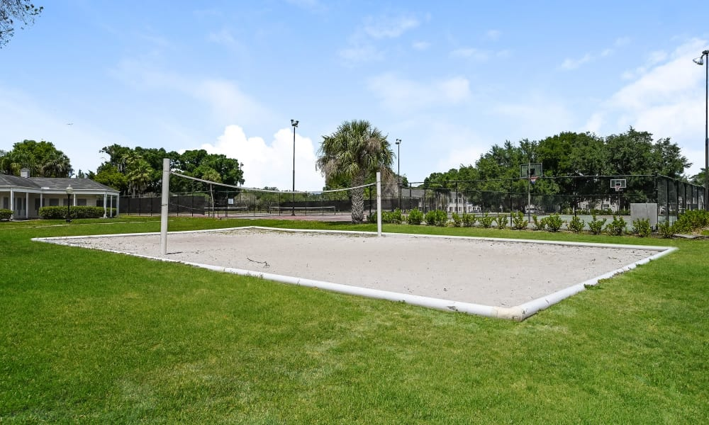 Enjoy Apartments with a Volleyball Court at Park at Lake Magdalene Apartments & Townhomes in Tampa, Florida