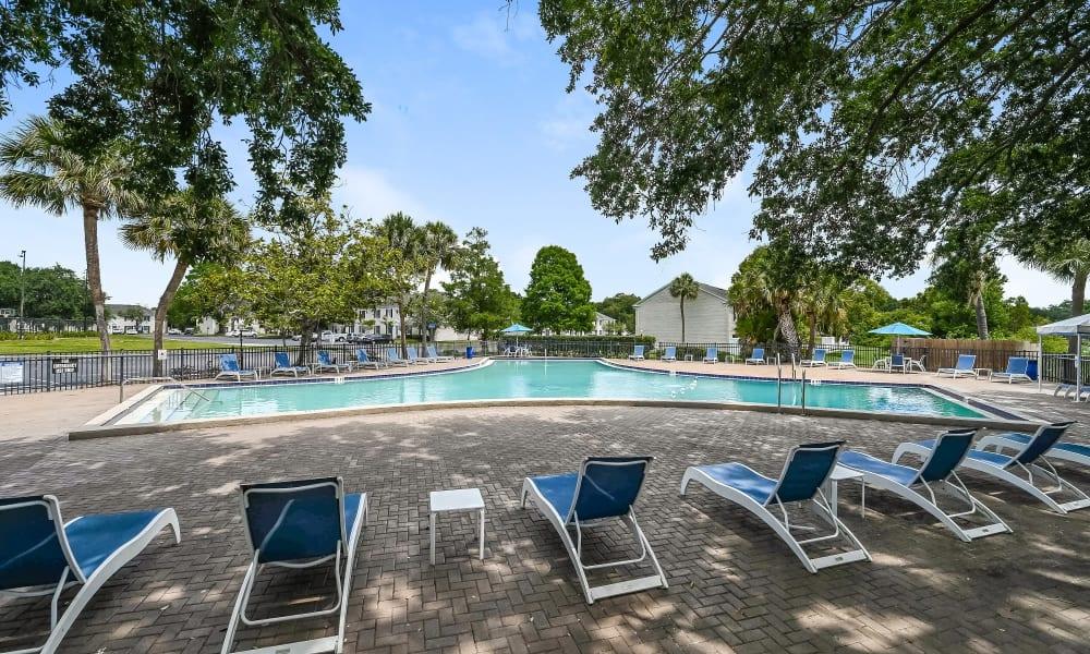 Enjoy Apartments with a Swimming Pool at Park at Lake Magdalene Apartments & Townhomes in Tampa, Florida
