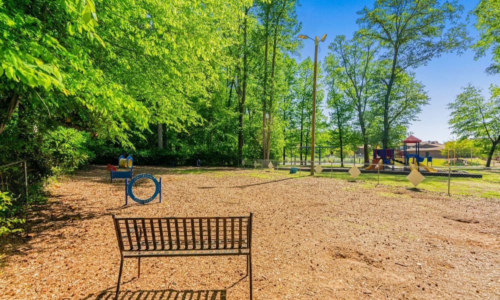 Our Apartments in Spartanburg, South Carolina offer a Dog Park