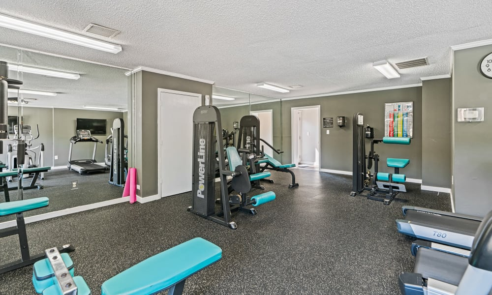 Our Apartments in Spartanburg, South Carolina offer a Gym