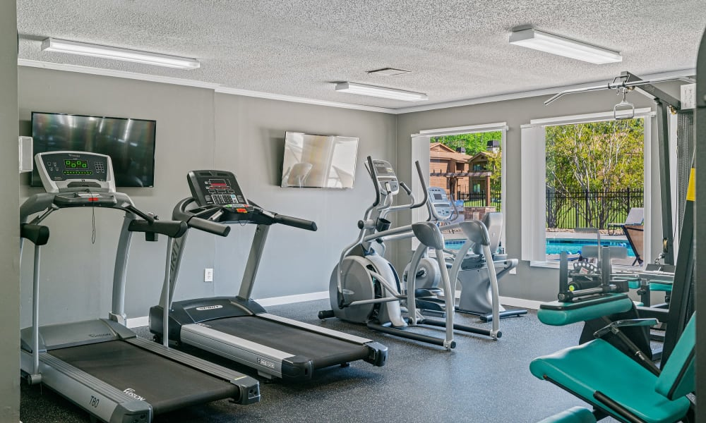 Enjoy Apartments with a Gym at Riverwind Apartment Homes in Spartanburg, South Carolina