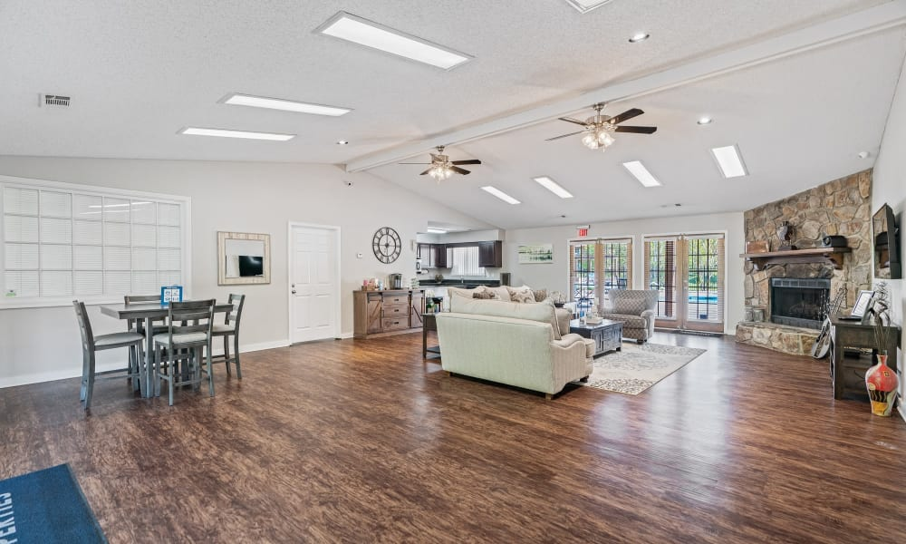 Enjoy Apartments with a Clubhouse at Riverwind Apartment Homes in Spartanburg, South Carolina