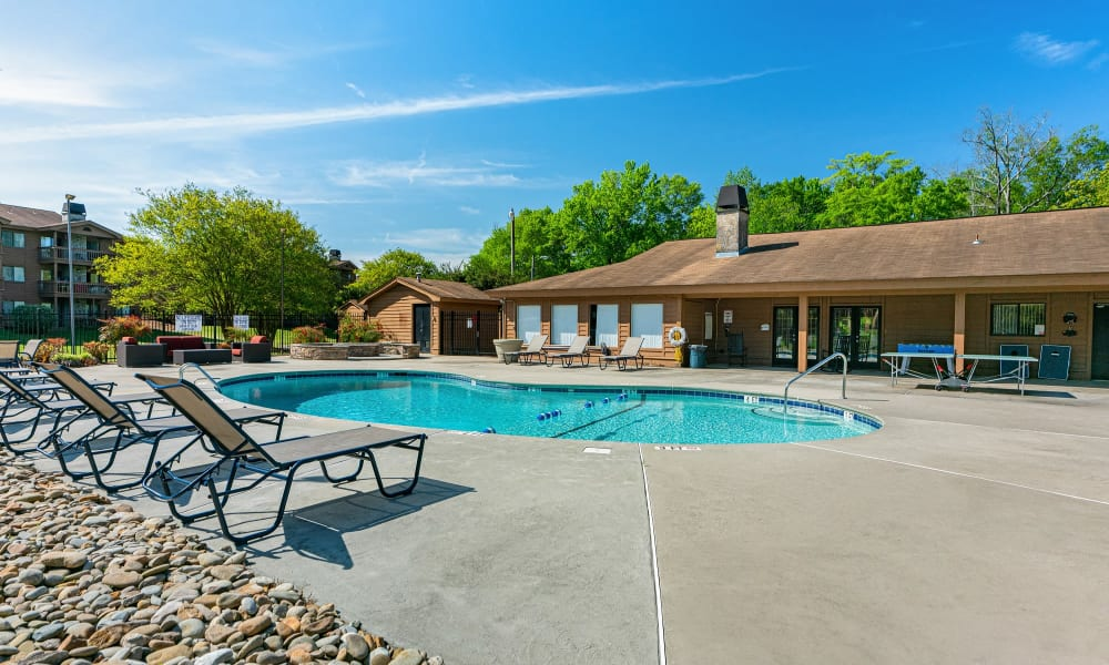 Enjoy Apartments with a Swimming Pool at Riverwind Apartment Homes in Spartanburg, South Carolina