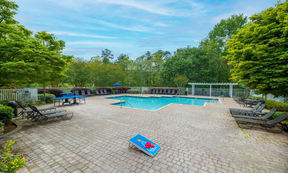 Enjoy Apartments with a Swimming Pool at Manchester at Wesleyan Apartment Homes in Macon, Georgia