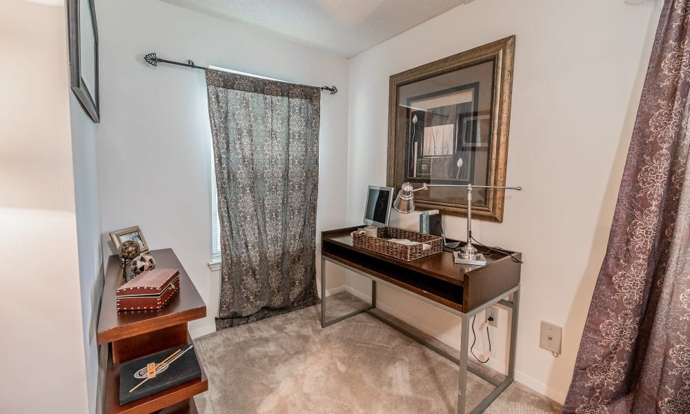 Enjoy Apartments with room for a home office at Manchester at Wesleyan Apartment Homes in Macon, Georgia