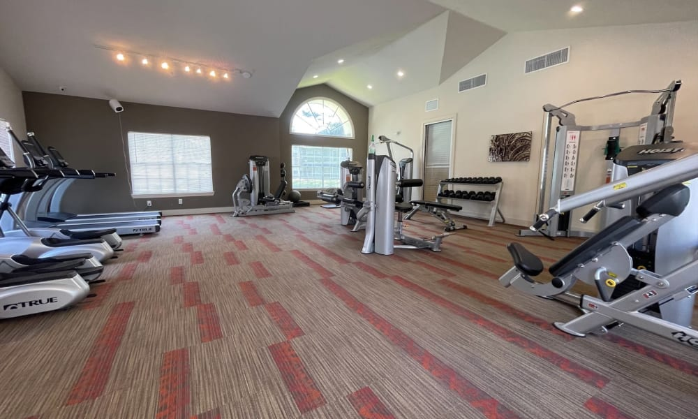 Enjoy Apartments with a Gym at Promenade Apartment Homes in Winter Garden, Florida