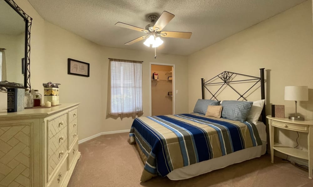 Bedroom at Promenade Apartment Homes in Winter Garden, Florida