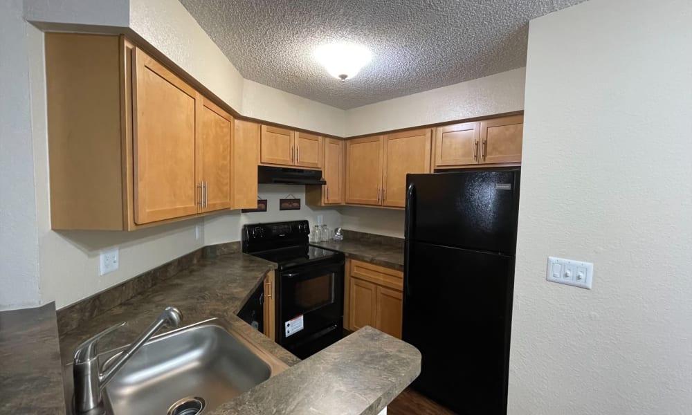 Kitchen at Promenade Apartment Homes in Winter Garden, Florida