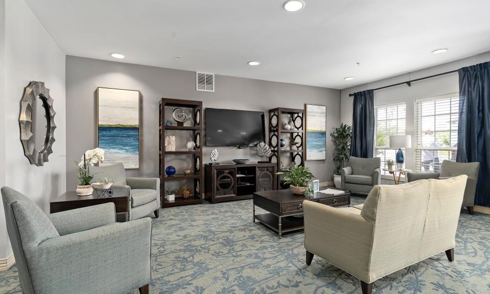 Large living room at Gentry Park Orlando in Orlando, Florida
