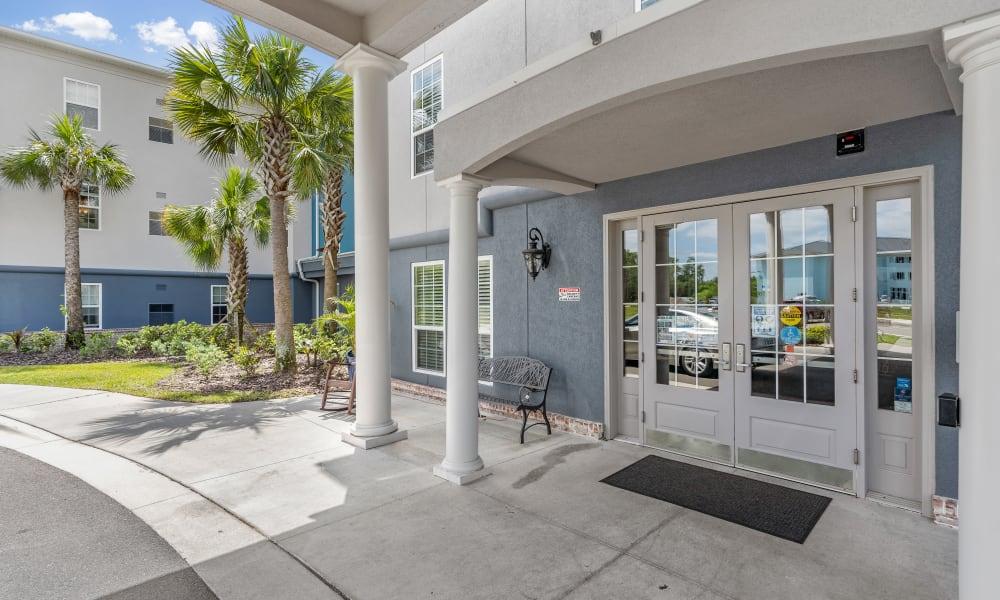 Entry way of Gentry Park Orlando in Orlando, Florida
