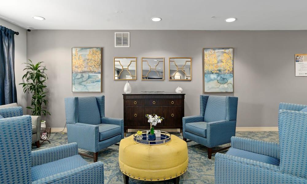 Clubhouse interior at Gentry Park Orlando in Orlando, Florida