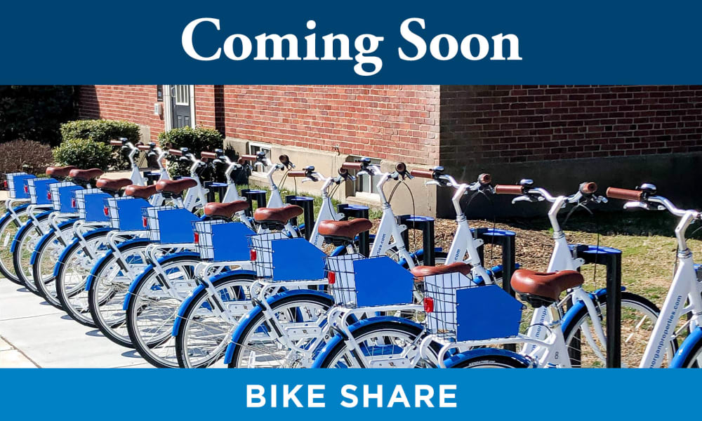 Our Apartments in Tampa, Florida offer a Bike Share