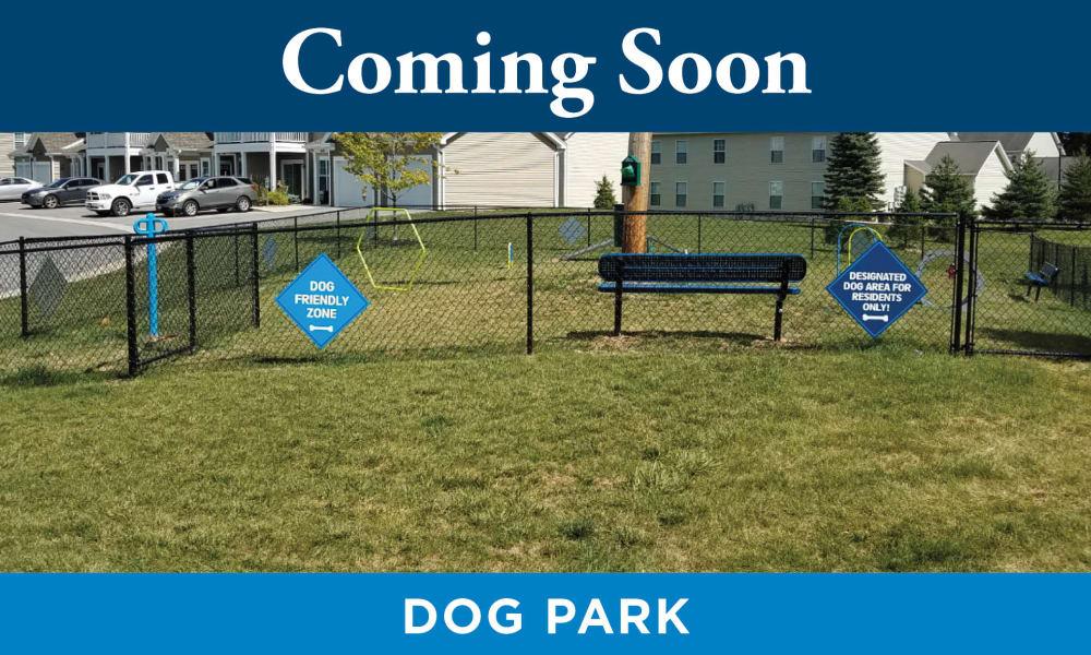 Dog Park at Promenade Apartment Homes in Winter Garden, Florida