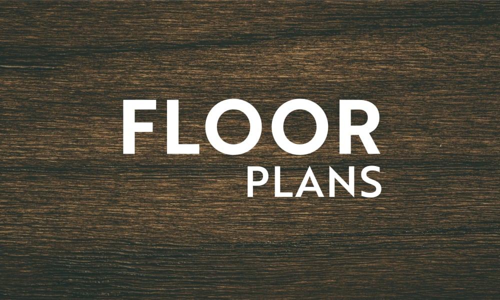 floor plans at Encore 281