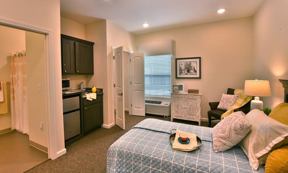 Resident Studio at Field Pointe Assisted Living in Saint Joseph, Missouri