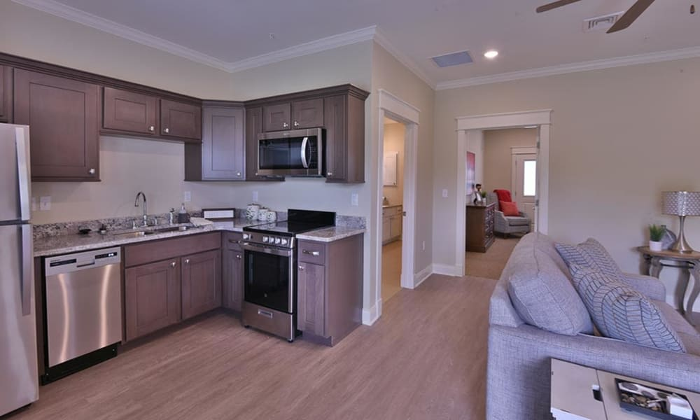One Bedroom Independent Living Cottage at Field Pointe Assisted Living in Saint Joseph, Missouri