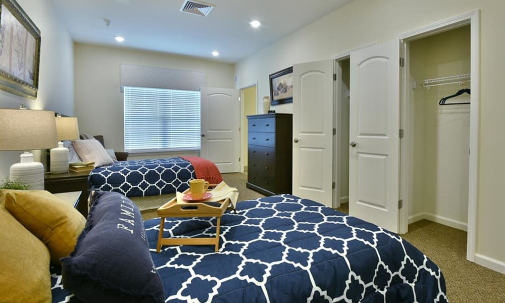 Semi-Private Room at Two Bedroom Independent Living Cottage at Field Pointe Assisted Living in Saint Joseph, Missouri