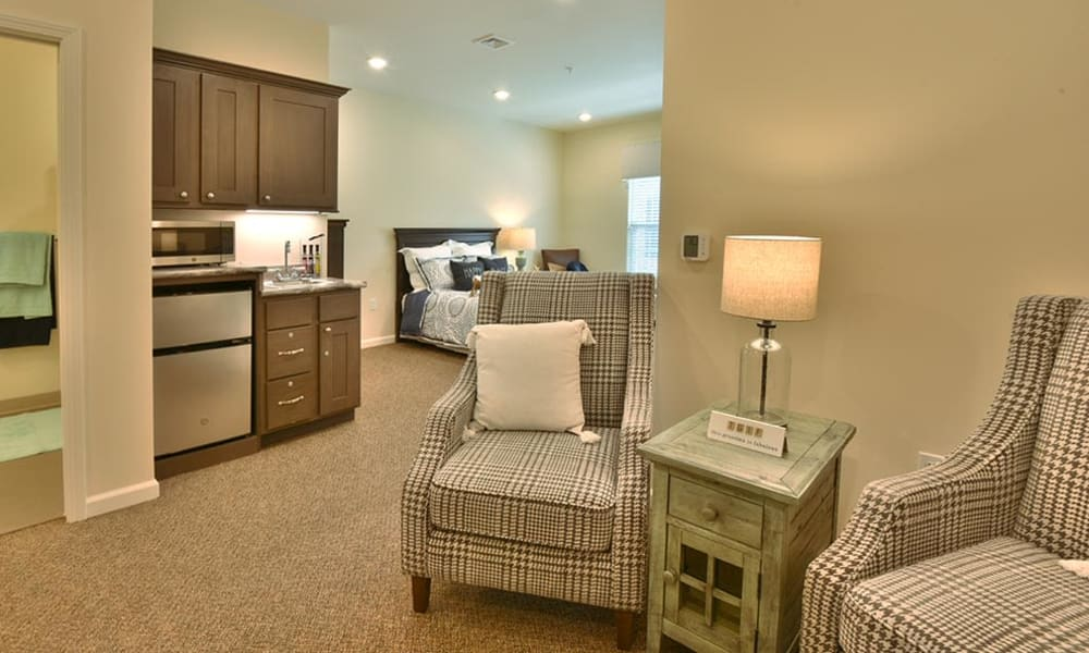 Resident Alcove at Field Pointe Assisted Living in Saint Joseph, Missouri