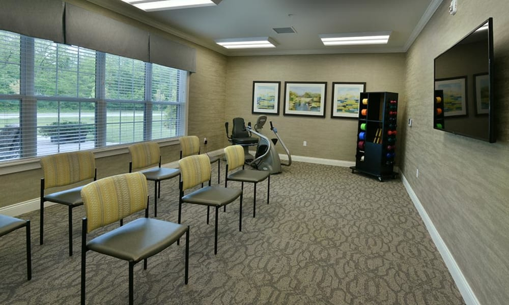 Wellness and Fitness is important at Field Pointe Assisted Living in Saint Joseph, Missouri