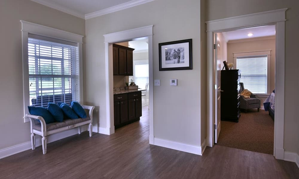 Two Bedroom Independent Living Cottage at Field Pointe Assisted Living in Saint Joseph, Missouri