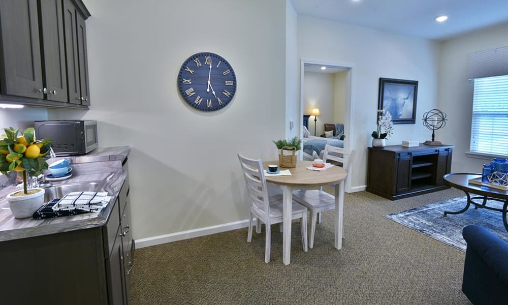 Resident Suite at Field Pointe Assisted Living in Saint Joseph, Missouri