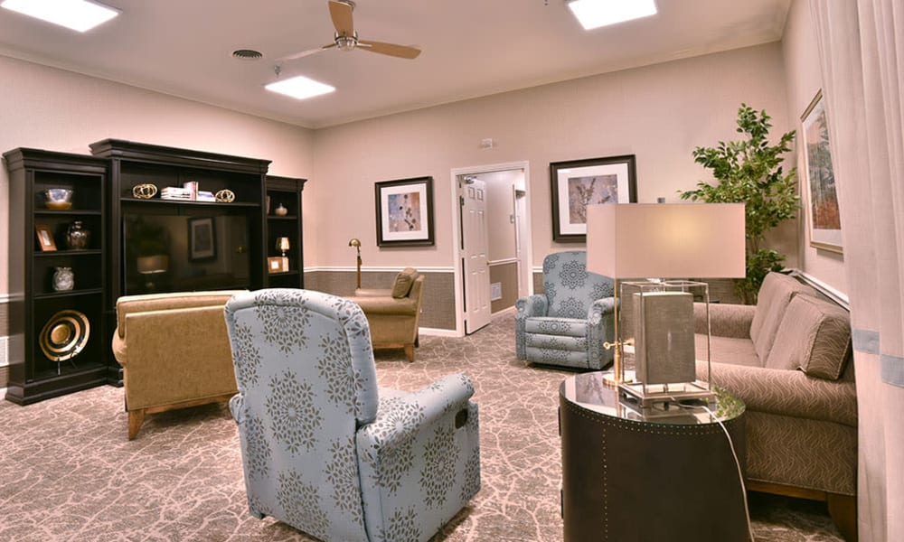 Television Lounge at Dogwood Bend in Clarksville, Tennessee
