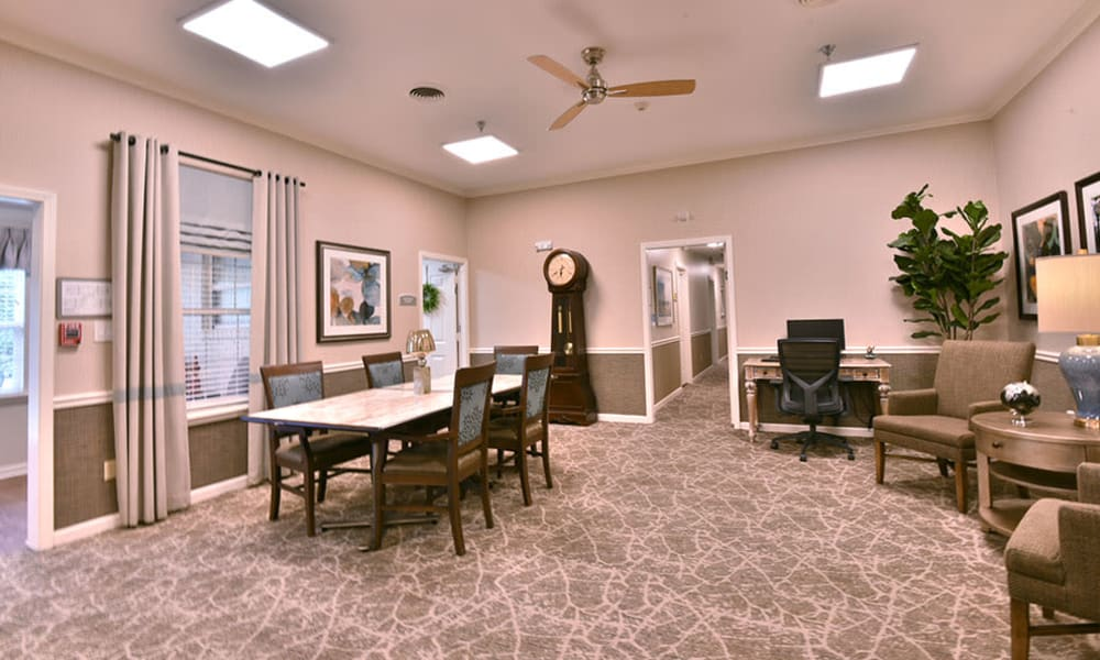 Activities Room at Dogwood Bend in Clarksville, Tennessee