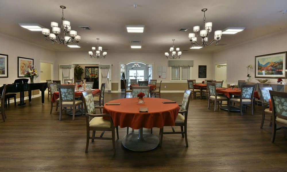 Dogwood Pointe Senior Living Dining Room in Milan, Tennessee