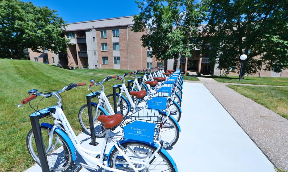 Bike Share at Lakewood Hills Apartments & Townhomes in Harrisburg, PA