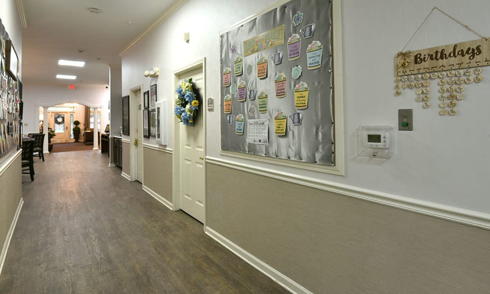 Quilt Wall at Alexandria Place in Jackson, Tennessee