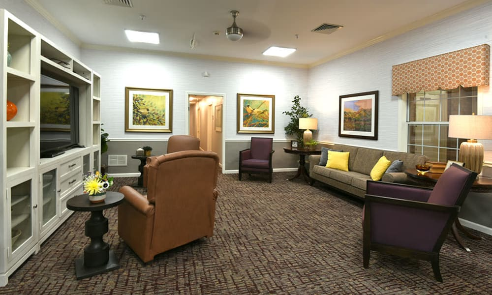 Activities Room at Alexandria Place in Jackson, Tennessee