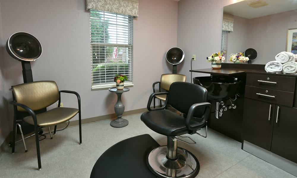 On Site Beauty and Barber Salon at Alexandria Place in Jackson, Tennessee