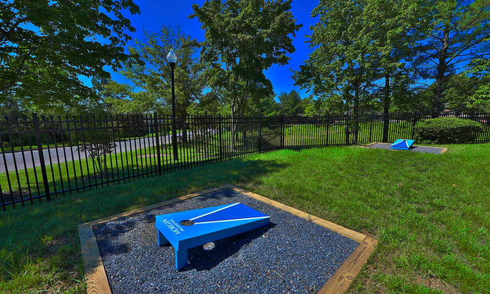 Corn Hole at The Townhomes at Diamond Ridge in Baltimore, Maryland