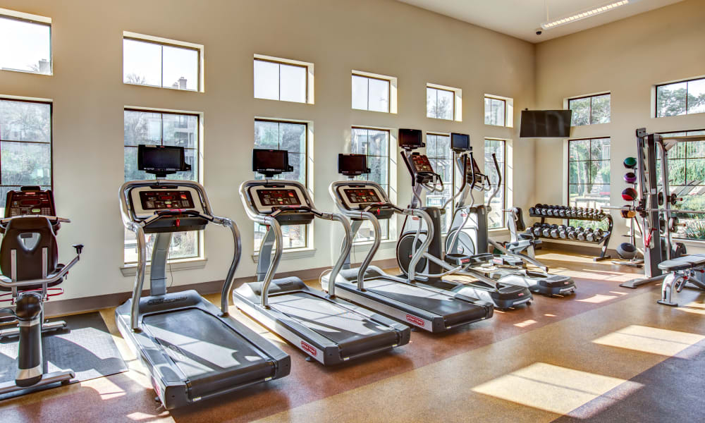 Estates at Bee Cave offers a fitness center in Bee Cave, Texas