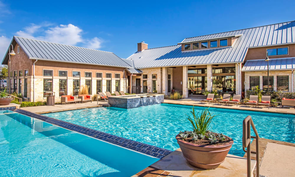 Our apartments in Bee Cave, Texas offer a swimming pool